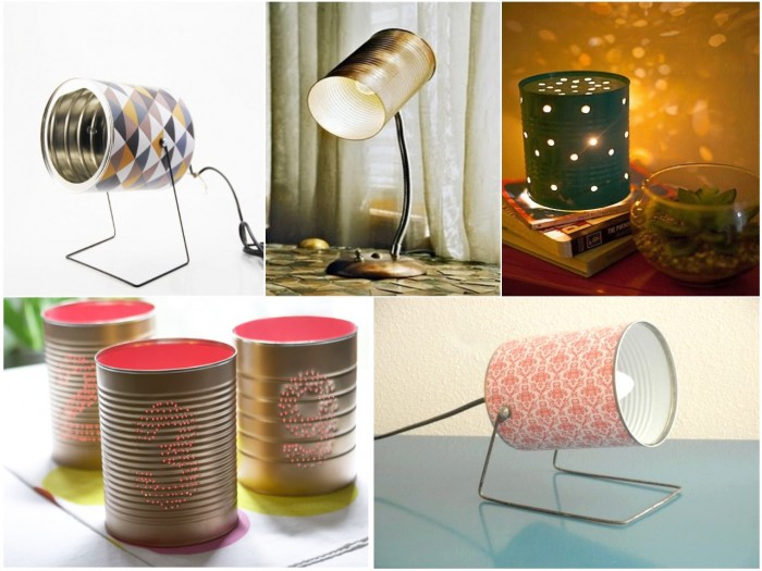 40 ideas en im genes para reciclar latas de conservas for Articulos cocina originales