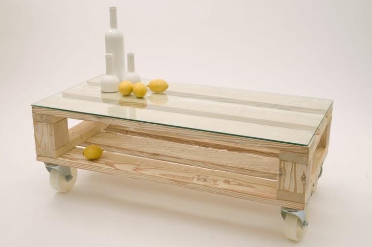Imagenes con ideas para hacer muebles con palets para el for Muebles hechos con palets fotos