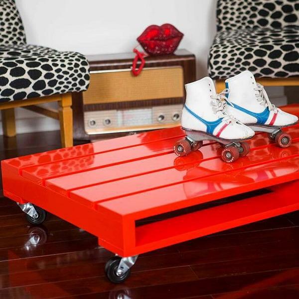 Imagenes con ideas para hacer muebles con palets para el for Fabricacion de muebles con palet de madera