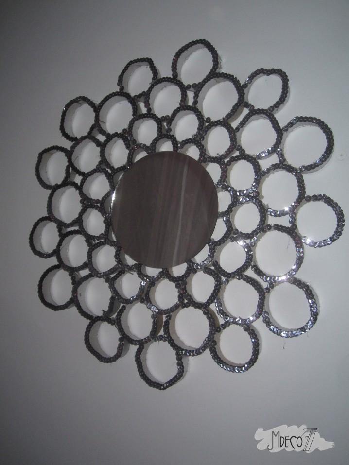 Originales espejos hechos con materiales reciclados Ecologa Hoy