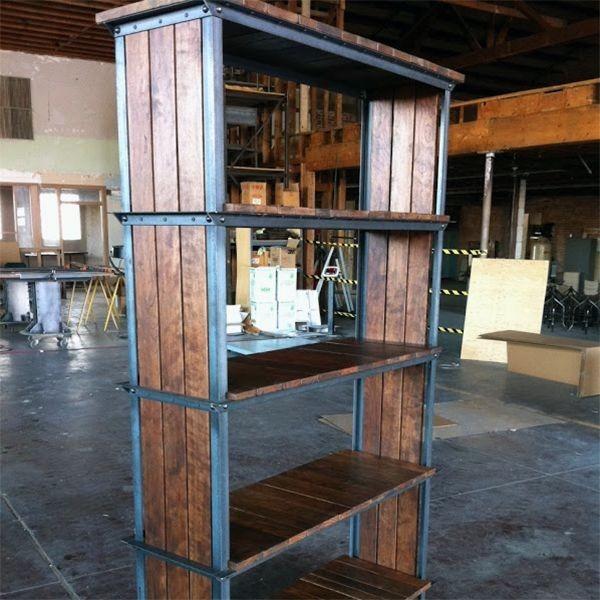 Ideas super originales para hacer bibliotecas con palets ecolog a hoy - Estanterias originales de pared ...