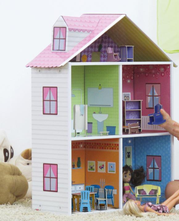 Im genes con ideas de casas hechas de carton ecolog a hoy - Como hacer una casa de carton pequena ...
