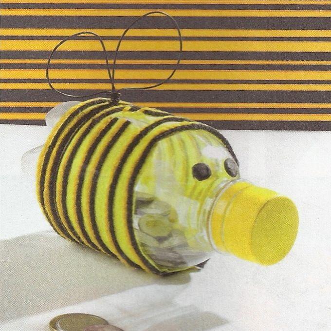 Juguetes Para Niños Hechos Con Botellas Recicladas