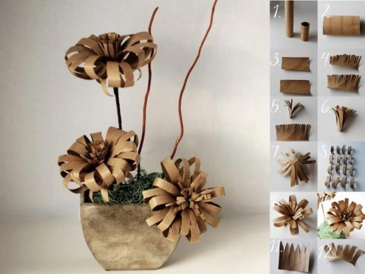 flores-de-tubos-de-carton