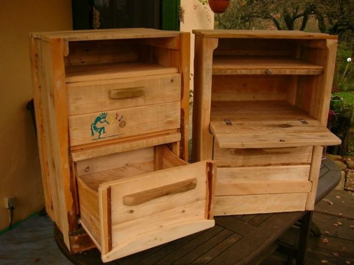 Muebles De Hoy : Ideas creativas para reciclar cajones y palets