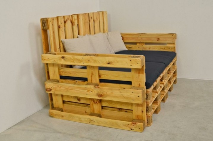 Ideas creativas para reciclar cajones y palets para for Muebles hechos con palets fotos