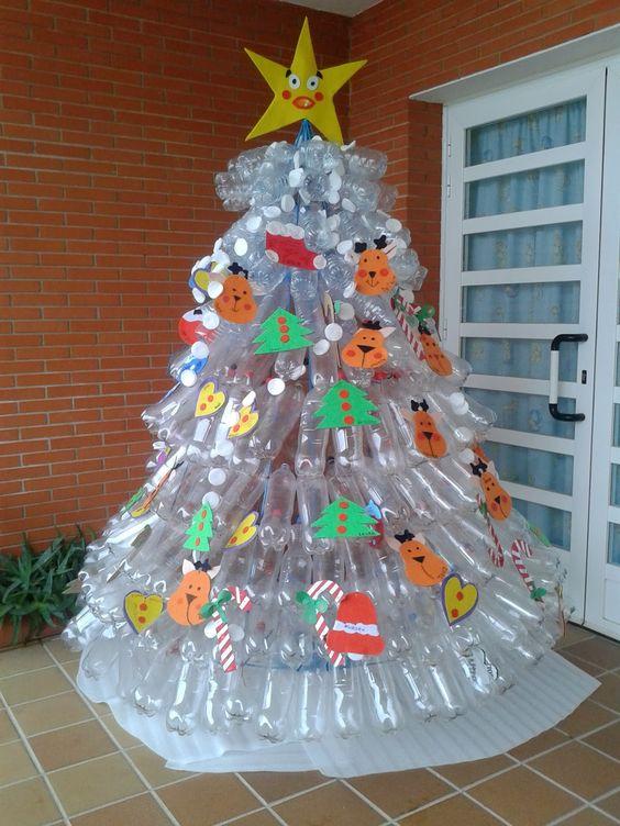Imágenes De Navidad Con Decoración Navideña Reciclada