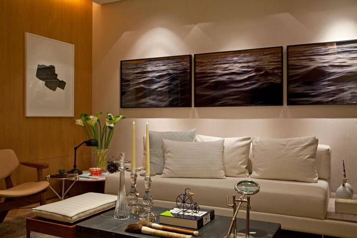 Salas modernas decoradas con dise os reciclados 45 fotos for Salas para espacios pequenos