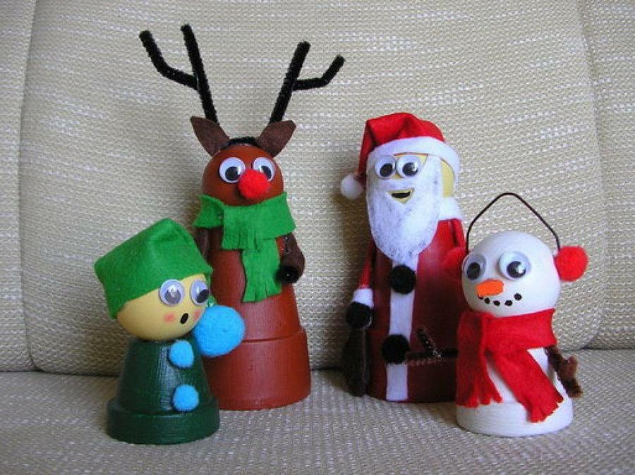 Im genes de navidad con decoraci n navide a reciclada - Hacer cosas para navidad ...