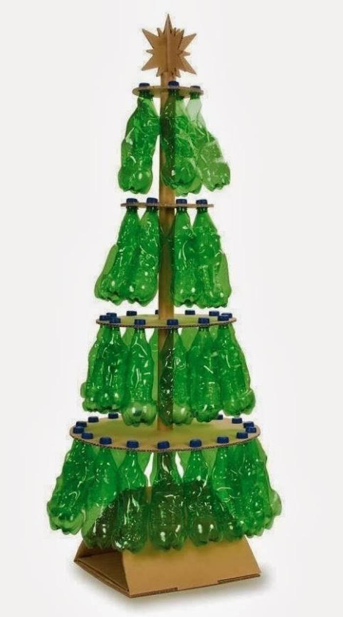 arbol-de-navidad-con-botellas