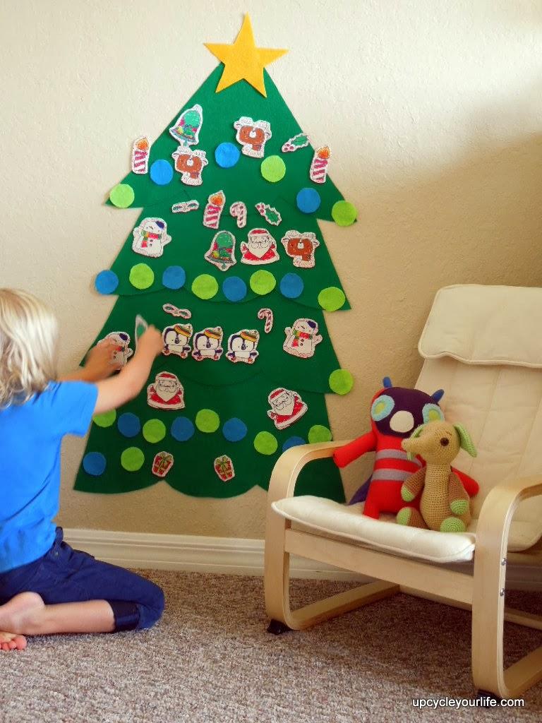 45 Árboles de Navidad con reciclados para niños   Ecología Hoy