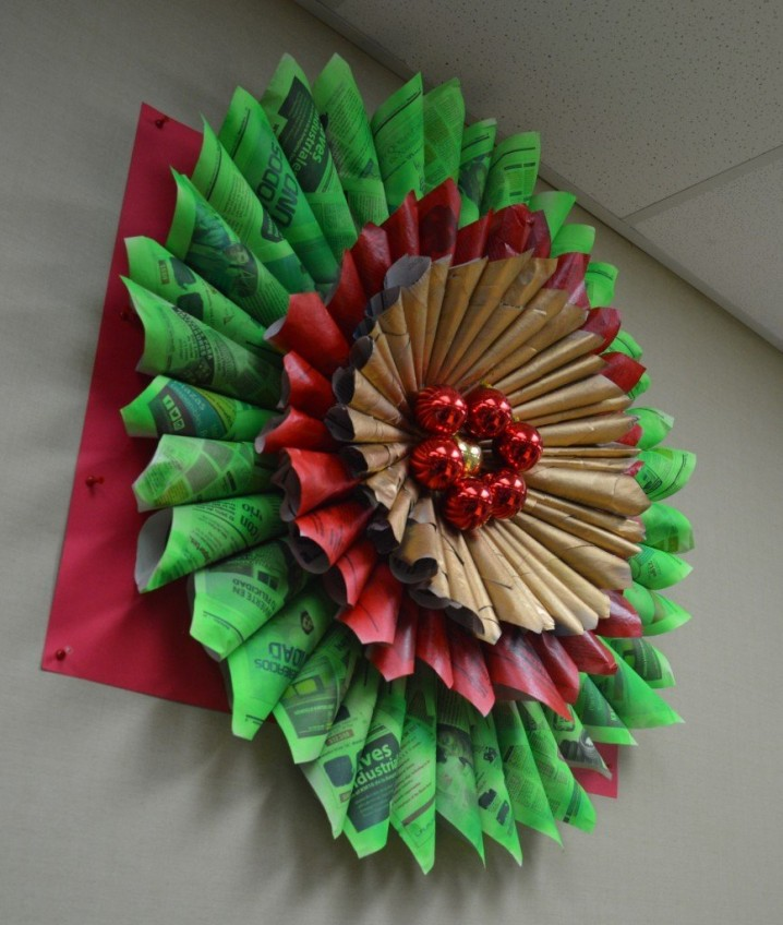 Im genes de navidad con decoraci n navide a reciclada for Decoracion navidena manualidades
