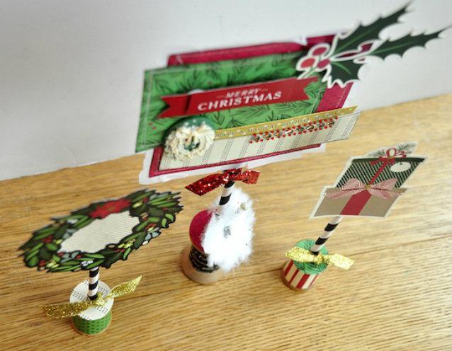 navidad-reciclada-decoraciones-navidenas-con-diarios-y-revistas-viejas-14