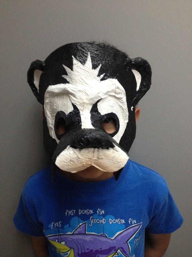 Máscaras de animales con material reciclado | Ecología Hoy