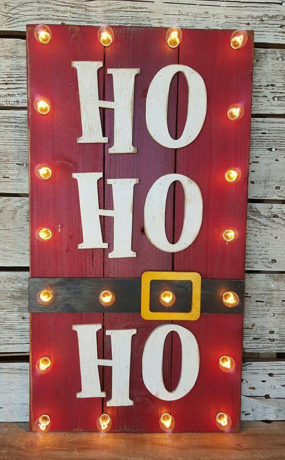 Decoraci n navide a con reciclaje adornos centros de for Ideas para decorar puertas de madera