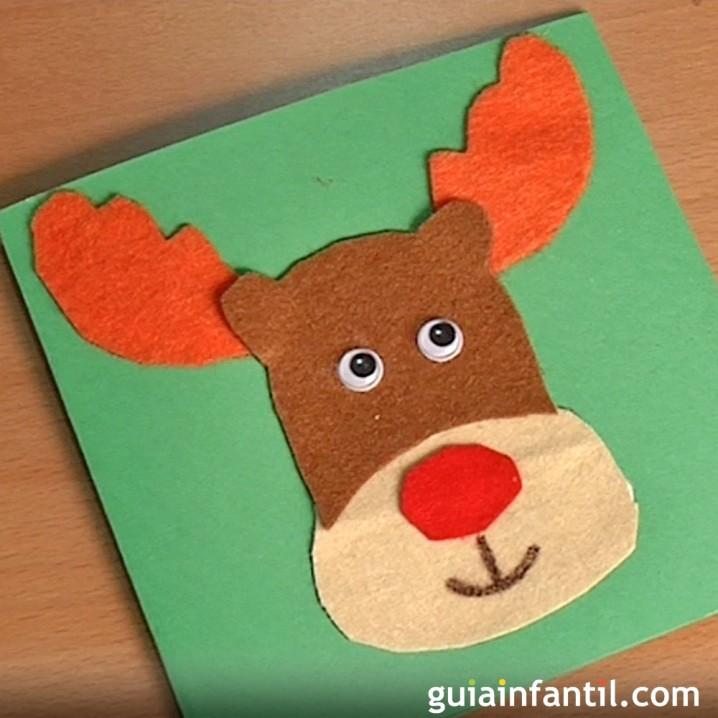 Manualidades de navidad tarjetas recicladas y originales - Como hacer tarjetas de navidad faciles ...