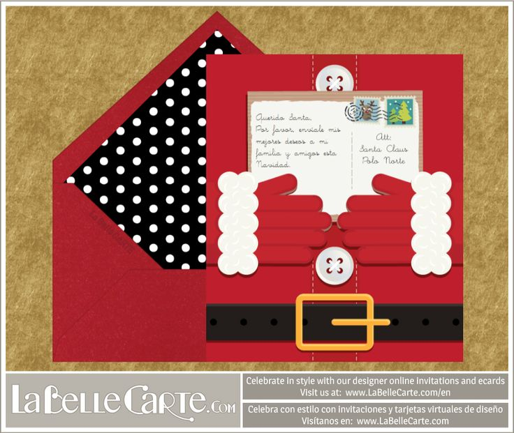 Manualidades de navidad tarjetas recicladas y originales - Como hacer una felicitacion de navidad original ...