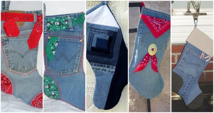 calcetines-navidenos-con-jeans-reciclados-1