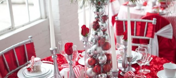 C mo decorar reciclando la mesa para navidad y a o nuevo for Decoracion casa navidad 2016