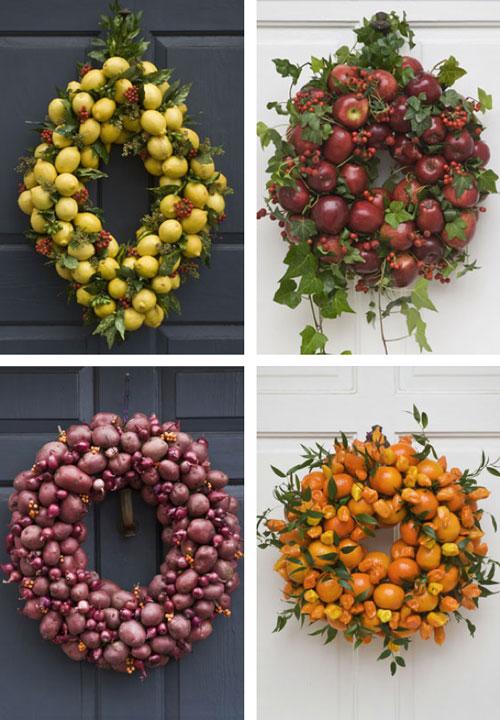 corona-navidena-frutas