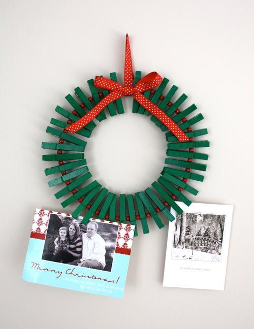 manualidad-corona-navidad-pinzas-ropa