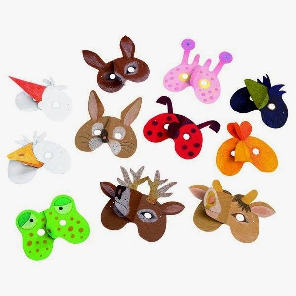 Mascaras De Animales Con Material Reciclado Ecologia Hoy