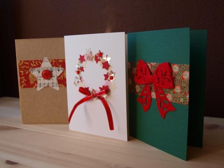 Manualidades De Navidad Tarjetas Recicladas Y Originales Ecologia Hoy - Como-se-hace-una-tarjeta-de-navidad