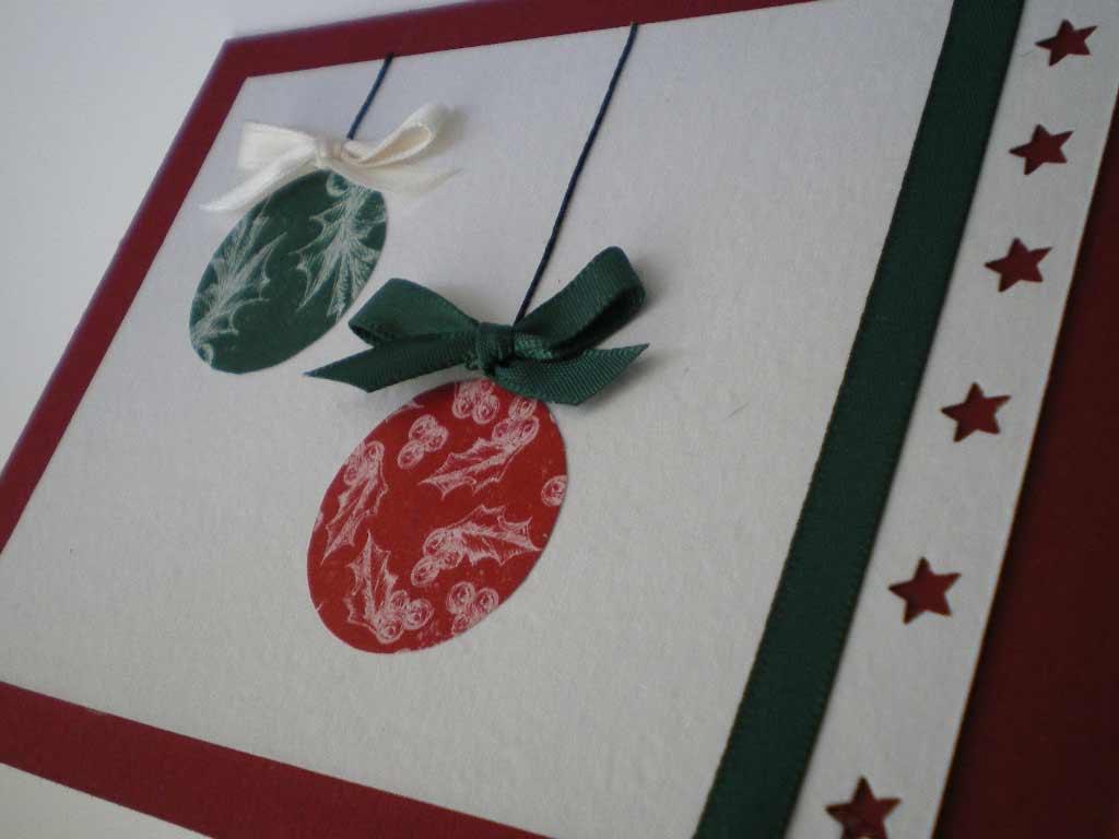 Manualidades de a o nuevo tarjetas para a o nuevo for Cosas navidenas para hacer en casa