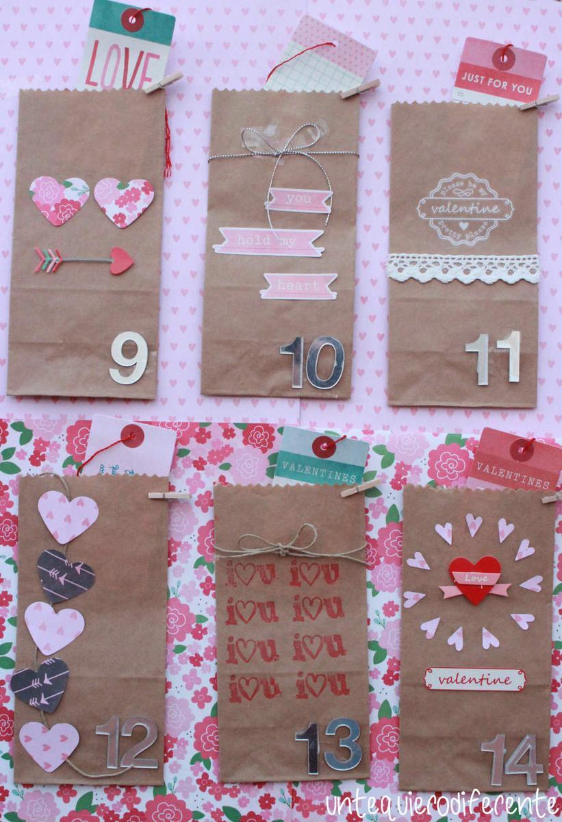 40 tarjetas de san valentin hechas con amor y materiales - Ideas romanticas para hacer en casa ...