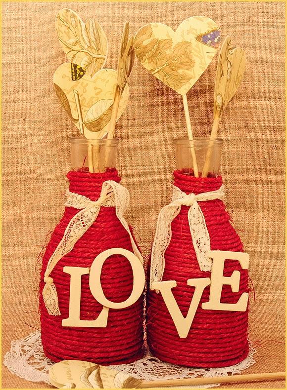 45 regalos para san valentin hechos con materiales - Lazos grandes para decorar ...