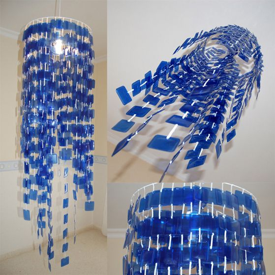 L mparas hechas con materiales reciclados ecolog a hoy for Que se puede cocinar hoy