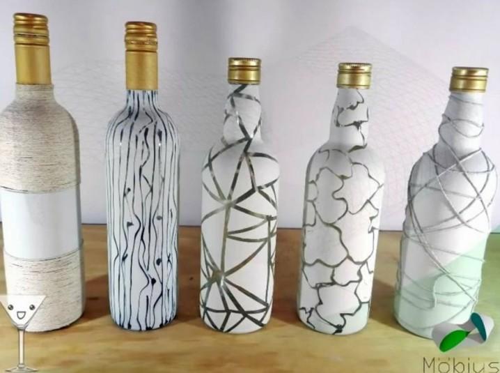 Reciclaje manualidades hechas con botellas de vidrio ecolog a hoy - Arreglar silla oficina se queda baja ...