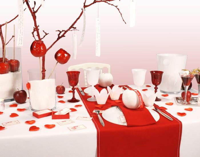 Centros de mesa para san valentin ecolog a hoy - Como hacer adornos de san valentin ...