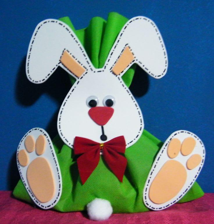 44 tarjetas para pascuas con papel reciclados ecolog a hoy for El conejo de pascua
