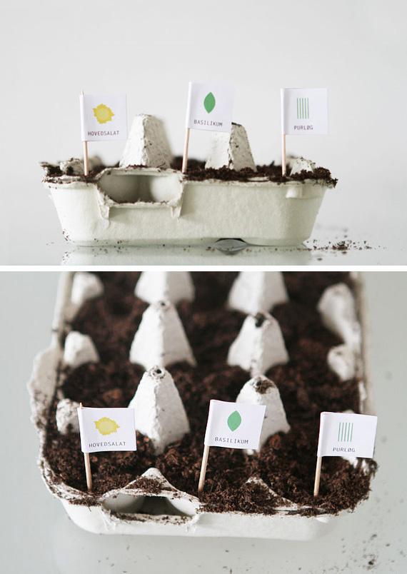 Manualidades con materiales reciclados para el jardin ecolog a hoy - Decoracion con reciclaje para el hogar ...
