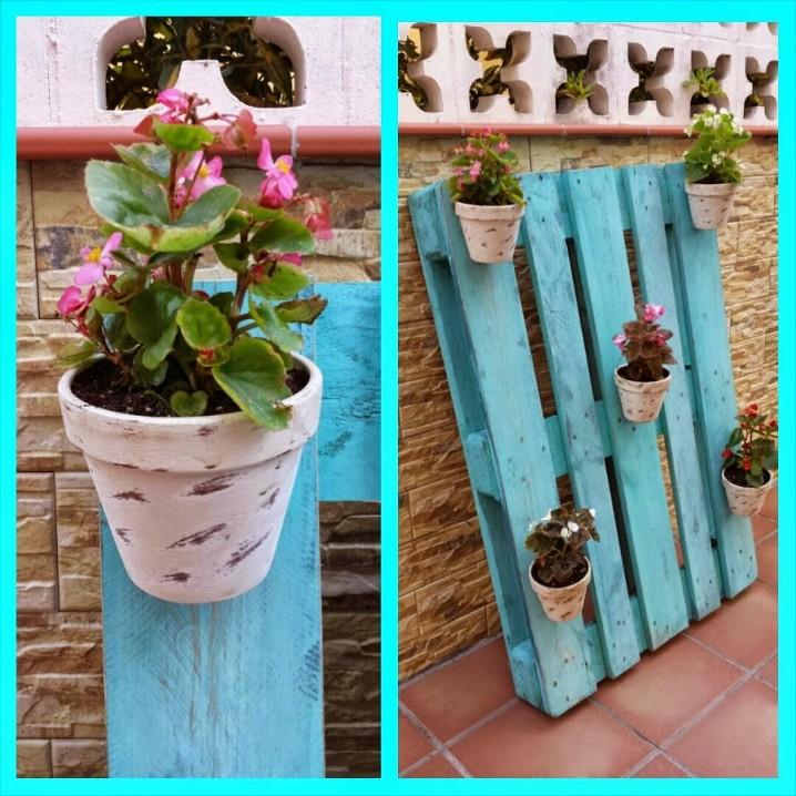 manualidades con materiales reciclados para el jardin