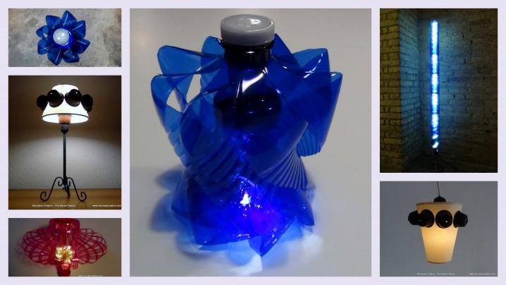 Lámparas hechas con materiales reciclados | Ecología Hoy