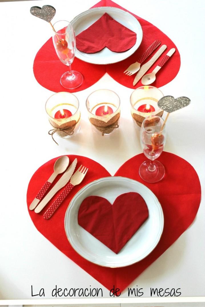 Centros de mesa para san valentin ecolog a hoy for Decorar mesa san valentin