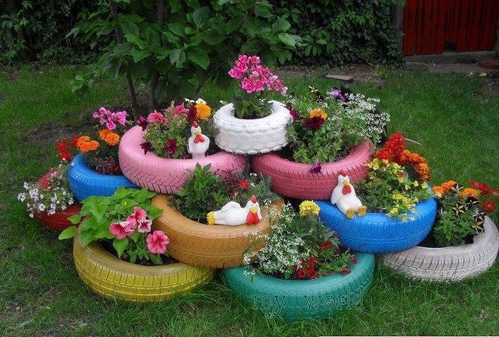Manualidades con materiales reciclados para el jardin for Manualidades de jardineria