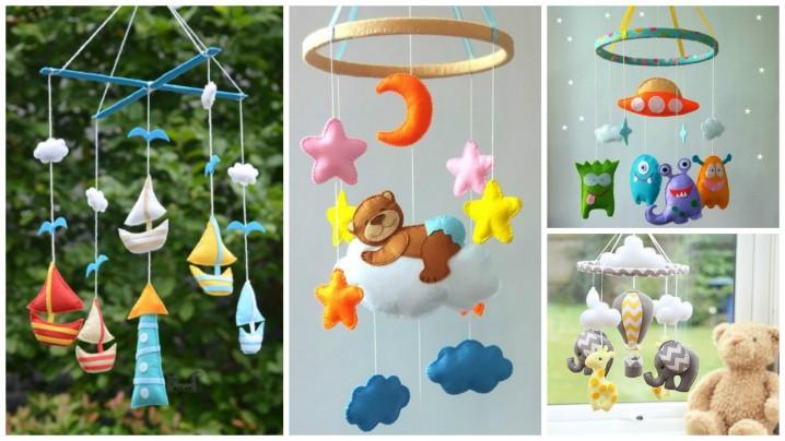 Genial moviles infantiles con ramas Inspire su propio cambio de imagen - Móviles infantiles originales con material reciclado ...