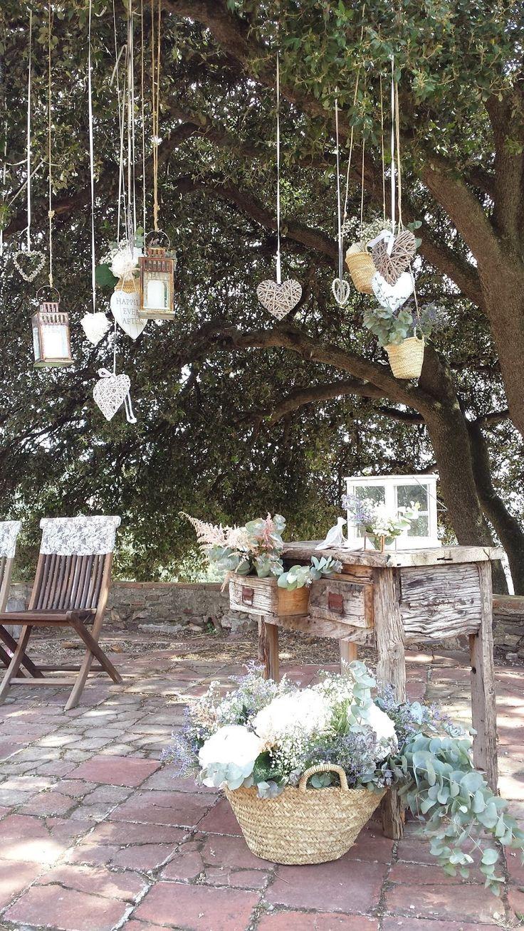 Souvenirs y detalles decorativos para una boda campestre for Decoracion rustica campestre