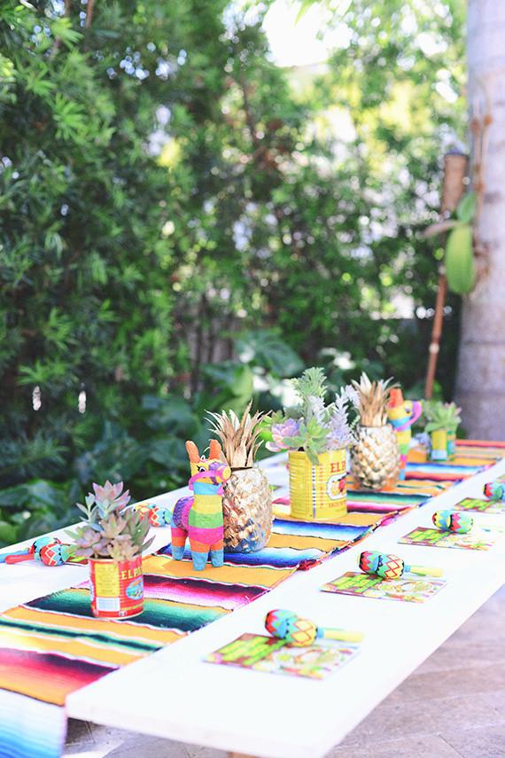 Decoraci n para fiestas de cumplea os al aire libre for Casa al dia decoracion
