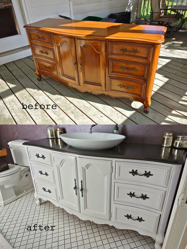 Cómo decorar con muebles viejos reciclados: Consejos e ideas ...