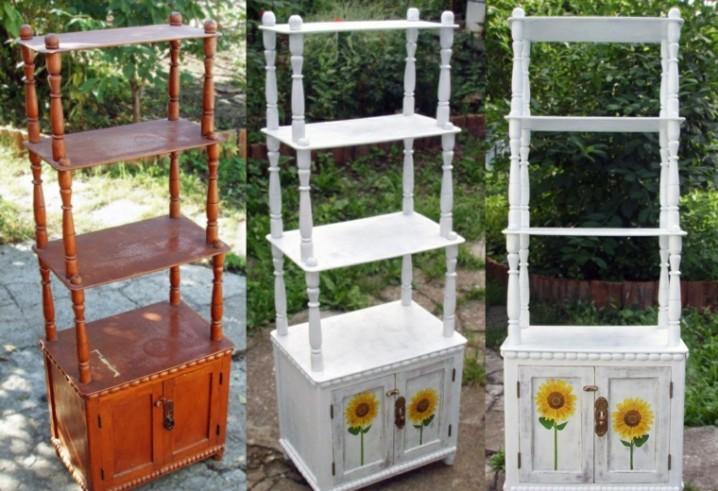 C mo decorar con muebles viejos reciclados consejos e for Reciclar muebles viejos